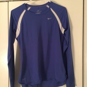 Nike Dri Fit Long Sleeve Shirt